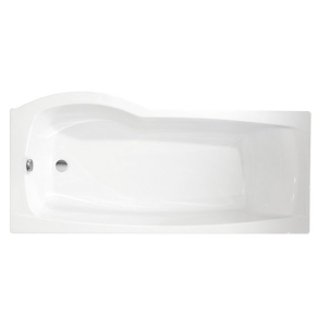 Roca Giralda Right Hand Shower Bath with Legs 1700mm x 800/700mm 0 Tap Hole - 1235R2000 RO10474