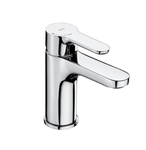 Roca L20 Cold Start Basin Mixer Tap without Pop-up Waste In Chrome - 5A3209C0R RO10500