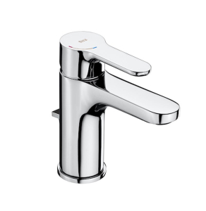 Roca L20 Basin Mixer Tap with Pop-up Waste In Chrome - 5A3I09C00 RO10526