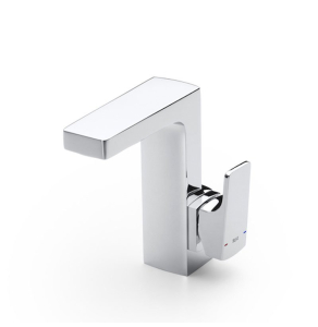 Roca L90 Cold Start Basin Mixer Tap with Pop-up Waste Lateral Handle In Chrome - 5A4001C00 RO10519