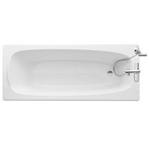 Roca Malaga Single Ended Acrylic Bath 1700mm x 700mm - 0 Tap hole - 248296000 RO10468