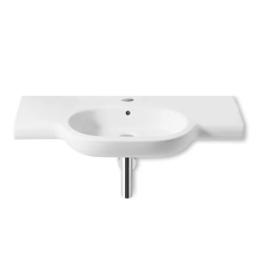 Roca Meridian-N Wall Hung Basin, 700mm Wide, 1 Tap Hole - 327240000 RO10127