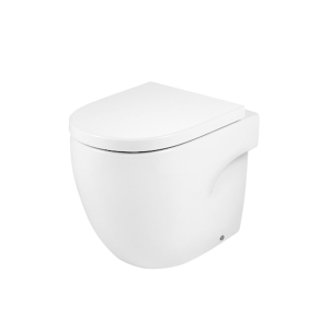 Roca Meridian-N Back to Wall Toilet WC 520mm Projection - Soft Close Seat RO10150