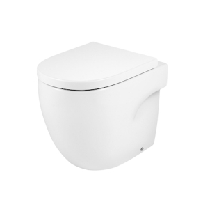 Roca Meridian-N Back to Wall Toilet, 520mm Projection, Standard Seat RO10134