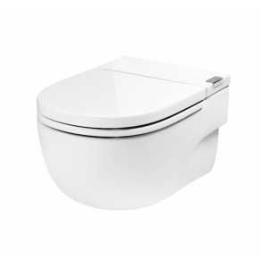 Roca Meridian-N In-Tank Wall-Hung Toilet with Cistern L Support - White RO10164