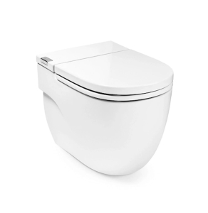 Roca Meridian-N In-Tank Back to Wall Toilet with Integrated Cistern - White RO10163