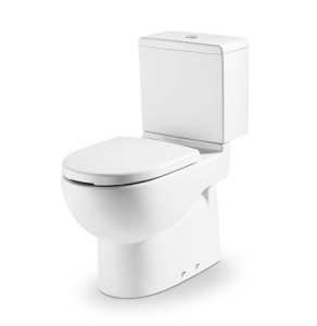Roca Meridian-N Access Close Coupled Toilet with Push Button Cistern and Seat RO10160