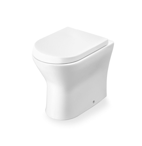 Roca Nexo Back to Wall Toilet WC 540mm Projection - Standard Seat RO10274