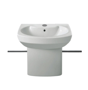 Roca Senso Compact Wall Hung Basin, 550mm Wide, 1 Tap Hole - 325513000 RO10219