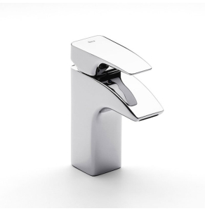 Roca Thesis Basin Mixer Tap with Pop-up Waste In Chrome - 5A3050C00 RO10516