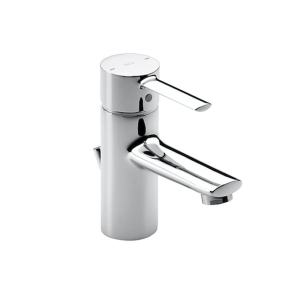 Roca Targa Basin Mixer Tap with Pop-up Waste in Chrome - 5A3060C00 RO10505