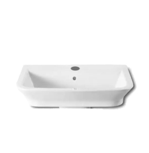 Roca The Gap Wall Hung Basin, 650mm Wide, 1 Tap Hole - 327473000 RO10009