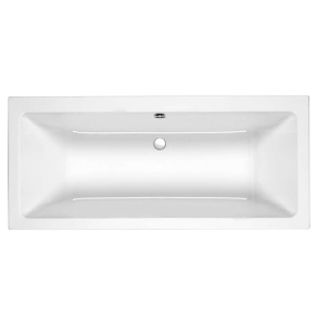 Roca The Gap Double Ended Rectangular Bath 1700mm x 750mm 0 Tap Hole - 024719000 RO10472