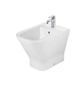 Roca The Gap Flush-to-Wall Bidet, 540mm Projection, 1 Tap Hole RO10012