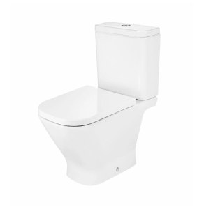 Roca The Gap Close Coupled WC Pan with Dual Flush WC Cistern In White - 342477000 + 34147C00F RO10039