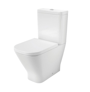 Roca The Gap Close Coupled Toilet WC Dual Flush Cistern - Soft Close Seat RO10050