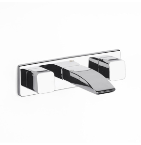 Roca Thesis Built-In Basin Mixer Tap with Flow Limiter In Chrome - 5A4550C00 RO10539