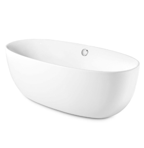 Roca Virginia Freestanding Acrylic Bath with Waste Kit 1700mm x 800mm 0 Tap Hole - 248313000 RO10483