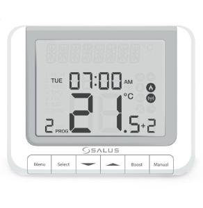 Salus Programmable Room RF Thermostat - RT520RF SA10001
