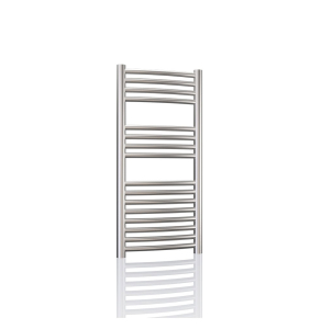 Radox Premier XL Curved Heated Towel Rail 800mm H x 600mm W -Stainless Steel RXPC-0800600-SS