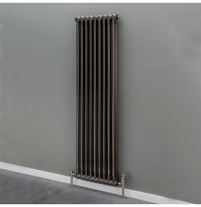 Supplies4Heat Cornel 2 Column Vertical Radiator 1800mm Height x 204mm Width - 4 Sections -Lacquer - CORN2C182004VL CORN2C182004VL