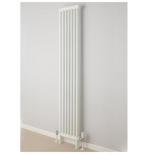Supplies4Heat Cornel Vertical 2 Column Radiator 1800mm Height x 429mm Width - White - CORN2C184209VW CORN2C184209VW