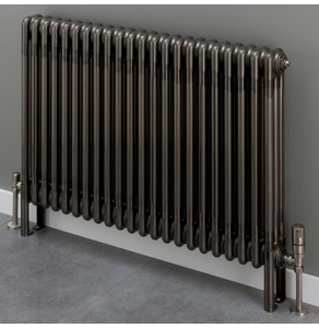 Supplies4Heat Cornel 4 Column Horizontal Radiator 500mm Height x 609mm Width - 13 Sections -Lacquer - CORN4C506013HL CORN4C506013HL