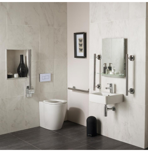 Ideal Standard Concept Freedom Designer Doc M Bathroom Pack - S6406AA - S6406AA IS10640