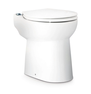 Saniflo Sanicompact Toilet WC with Built-In Macerator Pump (Cistern not included) - 1081 1081