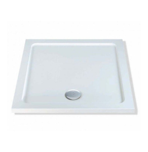 MX Elements Low Profile Flat Top Square Shower Tray 760mm - SAY SAY
