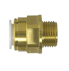 "Speedfit Brass Male Coupler 22Mm X 3/4"" - 22Mc 22MC"