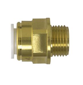 "Speedfit Brass Male Coupler 15Mm X 1/2"" - 15Mc 15MC"