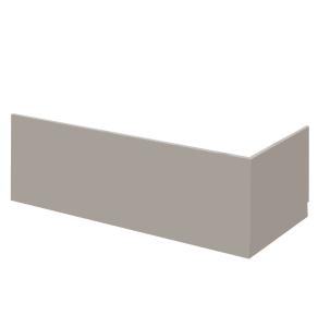 Nuie Athena Stone Grey Contemporary 800mm Bath End Panel - MPC413 MPC413