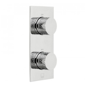Vado Omika One Outlet Two Handle Vertical Tablet Thermostatic Valve - Tab-148-Omi-C/P VADO1575