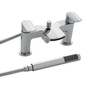 Nuie Mona Chrome Contemporary Bath Shower Mixer - TMO354 TMO354
