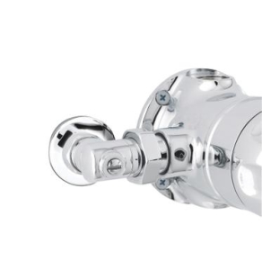 Nuie Commercial Showers Chrome Contemporary Isolation Elbows For Sequential Valves - TMVSQELB TMVSQELB
