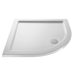 Nuie Shower Trays White Contemporary Quad Tray 1000x1000mm - NTP107 NTP107