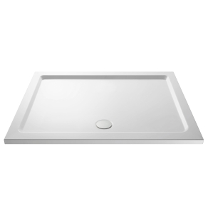 Nuie Shower Trays White Contemporary Rectangular Tray 1500x800mm - NTP043 NTP043