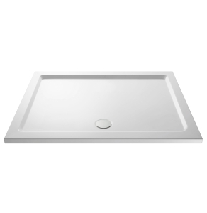 Nuie Shower Trays White Contemporary Rectangular Tray 1600x800mm - NTP053 NTP053