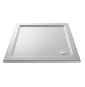 Nuie Shower Trays White Contemporary Square Tray 1000x1000mm - NTP015 NTP015