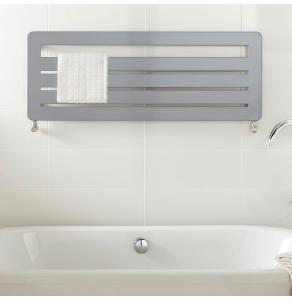TRC BDO Athena Heated Towel Rail 370mm H x 1200mm W - White ATHEBDO3712W