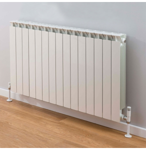 TRC Mix Radiator 390mm High x 1220mm Wide, 15 Sections, White MIX39W-15