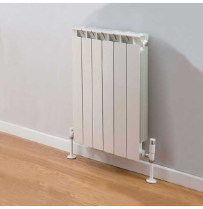 TRC Mix Radiator 390mm High x 500mm Wide, 6 Sections, White MIX39W-6