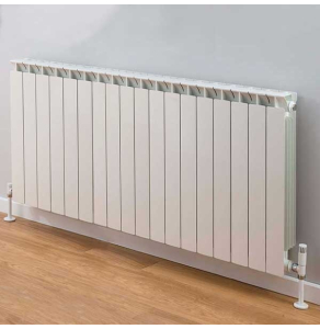 TRC Mix Radiator 440mm High x 1460mm Wide, 18 Sections, White MIX44W-18