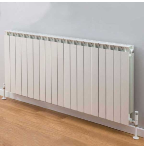 TRC Mix Radiator 590mm High x 1540mm Wide, 19 Sections, White MIX59W-19