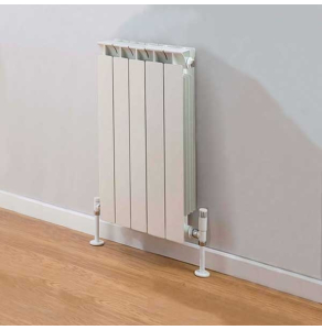 TRC Mix Radiator 590mm High x 420mm Wide, 5 Sections, White MIX59W-5