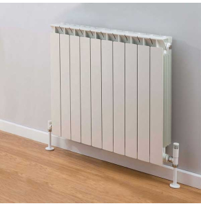 TRC Mix Radiator 690mm High x 820mm Wide, 10 Sections, White MIX69W-10