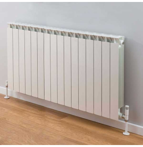TRC Mix Radiator 690mm High x 1300mm Wide, 16 Sections, White MIX69W-16