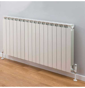 TRC Mix Radiator 690mm High x 1380mm Wide, 17 Sections, White MIX69W-17