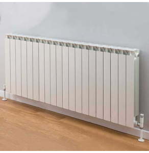TRC Mix Radiator 690mm High x 1620mm Wide, 20 Sections, White MIX69W-20